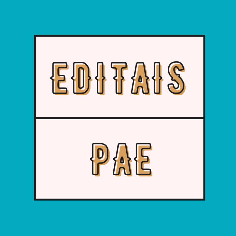 Editais PAE